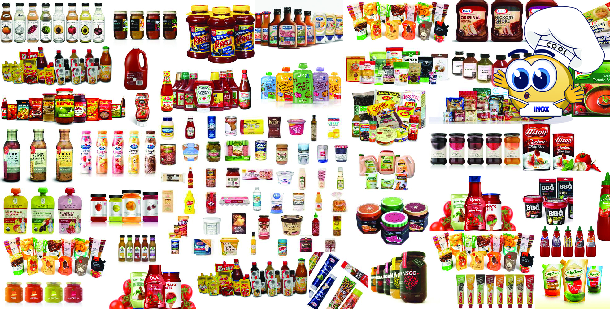 PASTEURISING AND COOLING OF ALL PACKAGED FOOD PRODUCTS
